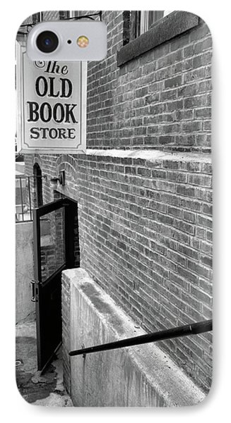 The Old Book Store IPhone Case by Karol Livote