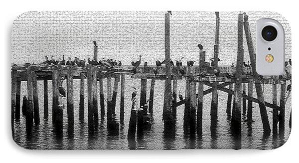 The Old Cedar Key Pier IPhone Case