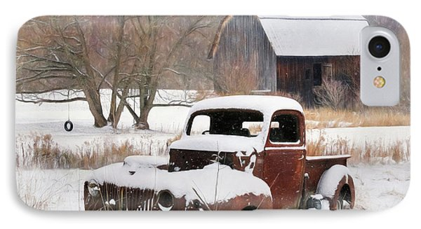 The Old Lawn Ornament IPhone Case by Lori Deiter
