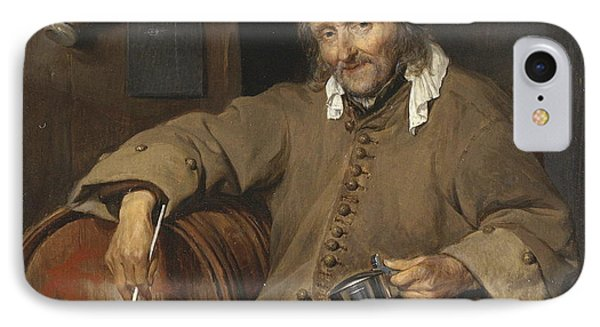 The Old Drinker, 1663 IPhone Case