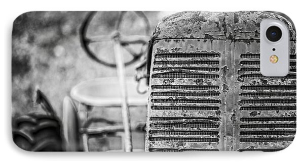 The Old Farm Tractor IPhone Case by Edward Fielding