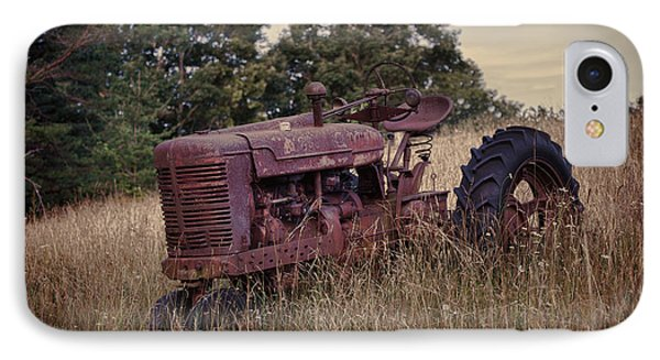 The Old Farmall IPhone Case by Laurinda Bowling