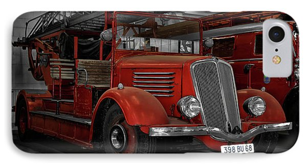 The Old Fire Trucks IPhone Case