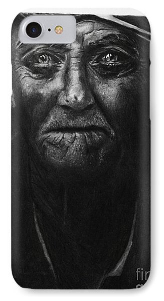 The Old Fisherman And The Sea IPhone Case