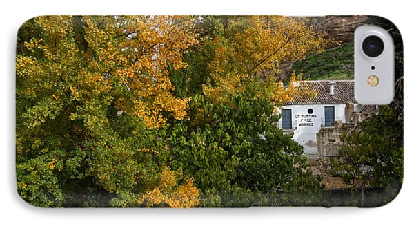 The Old Flour Mill And Elm Trees IPhone Case