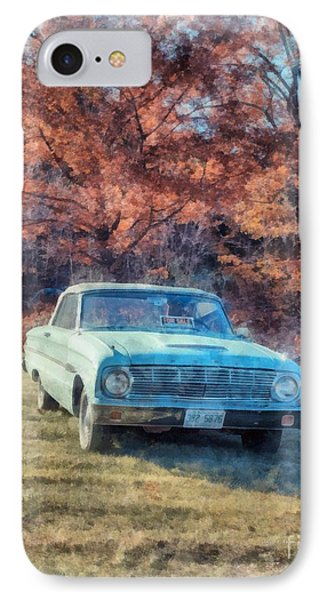 The Old Ford On The Side Of The Road IPhone Case by Edward Fielding