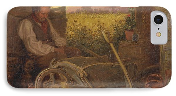 The Old Gardener IPhone Case by Briton Riviere