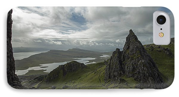The Old Man Of Storr IPhone 7 Case by Dubi Roman