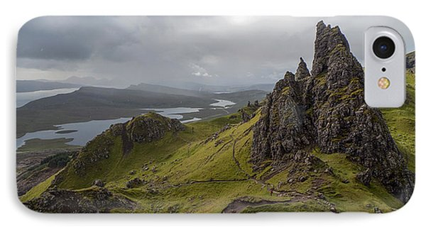 The Old Man Of Storr, Isle Of Skye, Uk IPhone 7 Case by Dubi Roman
