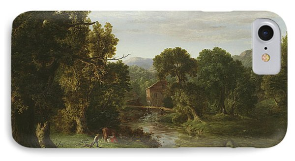 The Old Mill IPhone Case by George Inness