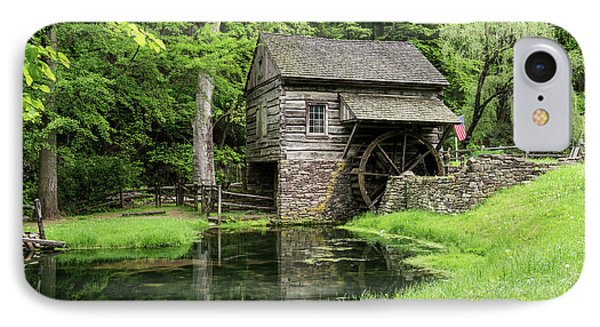 The Old Mill IPhone Case by Nicki McManus