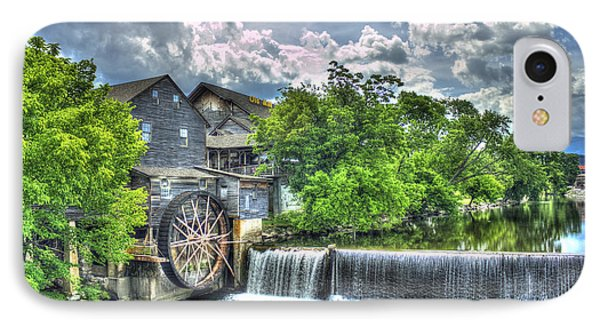 The Old Mill Pigeon Forge Tn IPhone Case