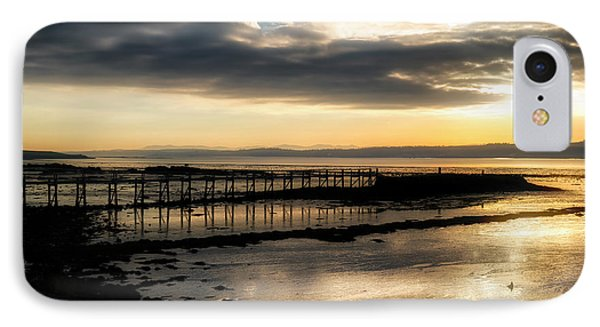 The Old Pier In Culross, Scotland IPhone 7 Case