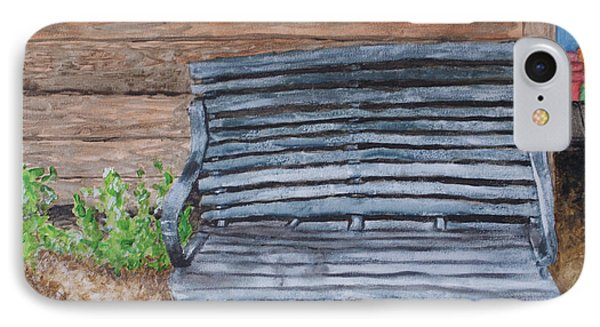 The Old Porch Swing IPhone Case by Jean Haynes