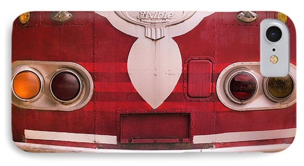 IPhone Case featuring the photograph The Old Red Bus by Heidi Hermes