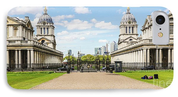 The Old Royal Naval College Greenwich England IPhone Case by Lexa Harpell