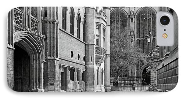 IPhone Case featuring the photograph The Old Schools University Offices Cambridge by Gill Billington