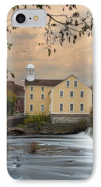The Old Slater Mill IPhone Case