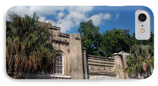 The Old Slave Market Museum In Charleston Phone Case by Susanne Van Hulst