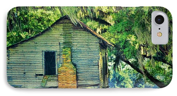 IPhone Case featuring the photograph The Old Slaves Quarters by Jan Amiss Photography