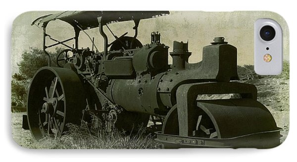 The Old Steam Roller Phone Case by Christo Christov