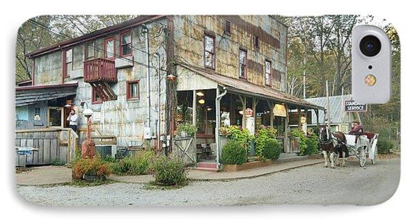 The Old Story Inn 1851 Nashville Indiana - Original IPhone Case by Scott D Van Osdol
