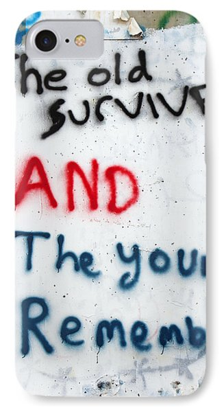 The Old Survive IPhone Case