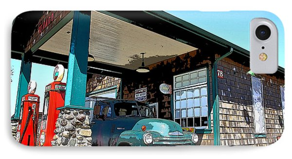 The Old Texaco Station IPhone Case by Steve McKinzie