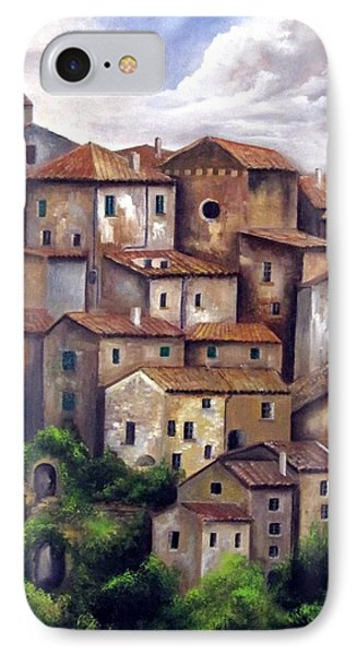 The Old Village IPhone Case by Katia Aho