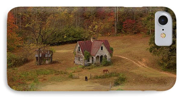 IPhone Case featuring the digital art The Oldest House In North Carolina by Sharon Batdorf