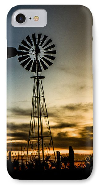 The Old Windmill IPhone Case by Robert Bales