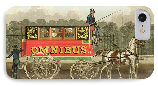 The Omnibus IPhone Case by Robert Havell