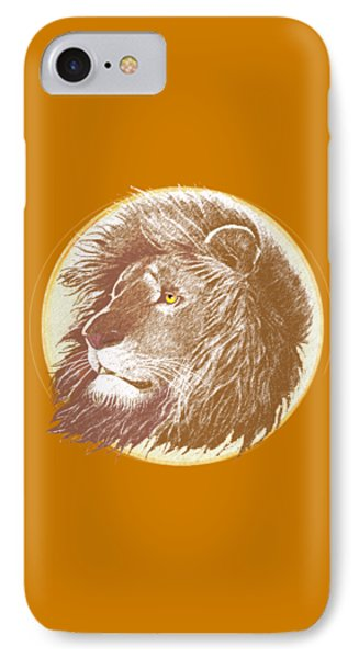 The One True King IPhone 7 Case by J L Meadows