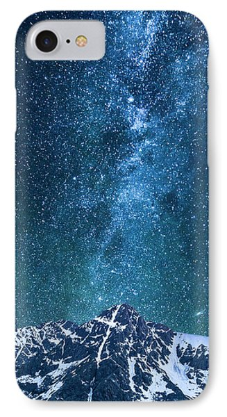 IPhone 7 Case featuring the photograph The One Who Holds The Stars by Aaron Spong