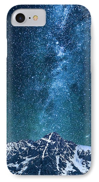 IPhone Case featuring the photograph The One Who Holds The Stars by Aaron Spong