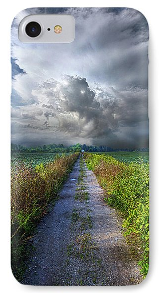 The Only Way In IPhone Case by Phil Koch