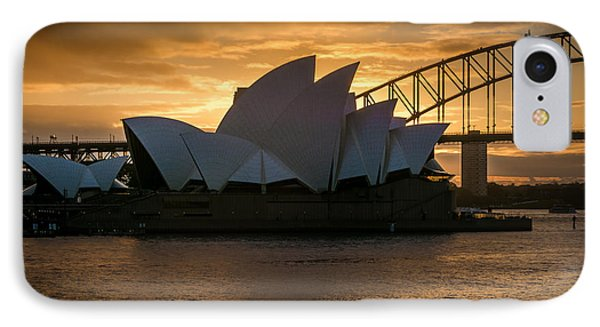 IPhone Case featuring the photograph The Opera House by Andrew Matwijec