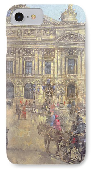 The Opera  Paris IPhone Case by Peter Miller