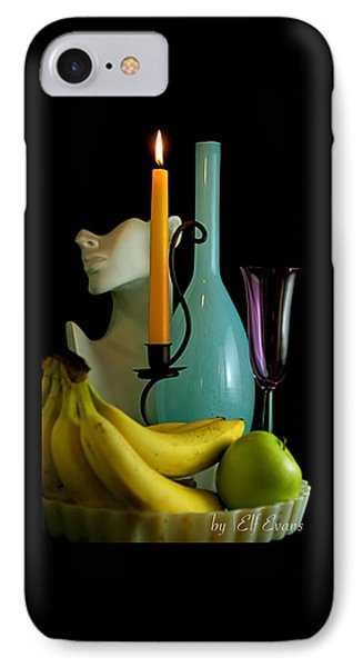 IPhone Case featuring the photograph The Orange Candle by Elf Evans