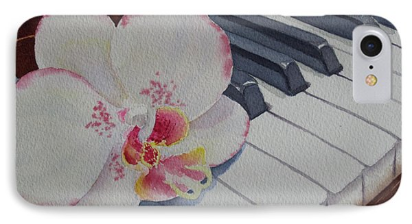 The Orchids Song IPhone Case by Judy Mercer