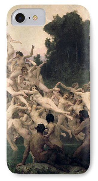 The Oreads IPhone Case by William-Adolphe Bouguereau