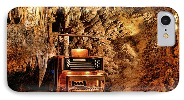 IPhone Case featuring the photograph The Organ In Luray Caverns by Paul Ward