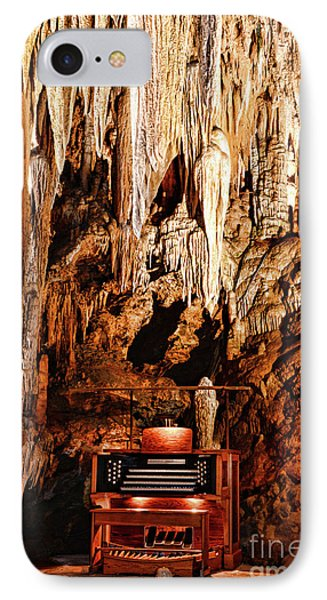The Organ In The Cavern IPhone Case by Paul Ward