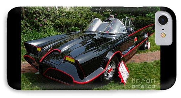 The Original 1960's Batmobile IPhone Case by Gina Sullivan