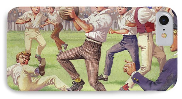 The Origins Of Rugby IPhone Case