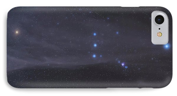 The Orion Constellation Rises Phone Case by John Davis