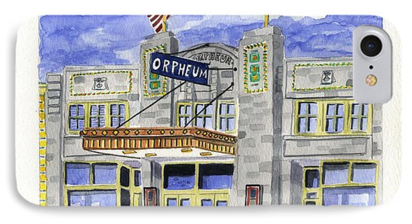 The Orpheum IPhone Case by Rodger Ellingson