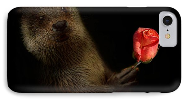 IPhone Case featuring the photograph The Otter by Christine Sponchia