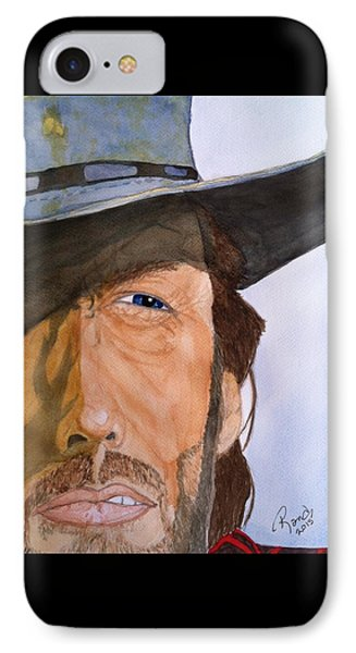 IPhone Case featuring the painting The Outlaw Josey Wales by Rand Swift
