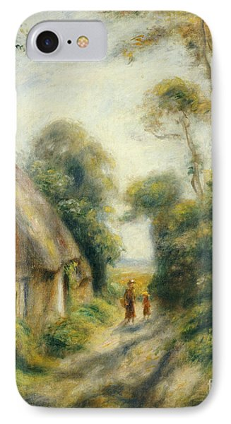 The Outskirts Of Berneval  Phone Case by Pierre Auguste Renoir